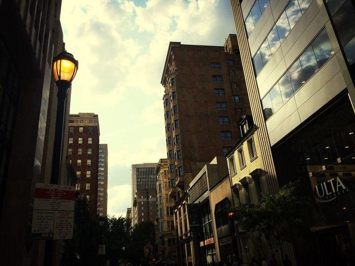 Philadelphia Philly Walking Around Walnut Street