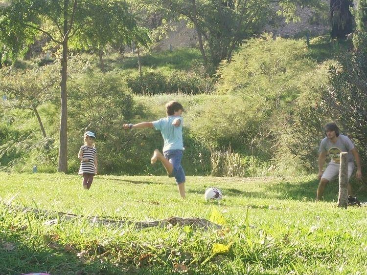 Family Time Goal Football :)