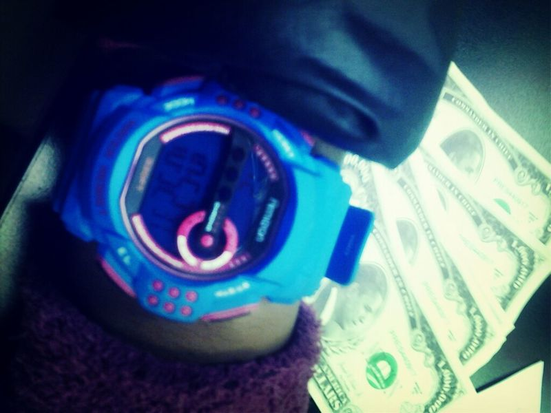 ' his watch :) #peep tha Barack money