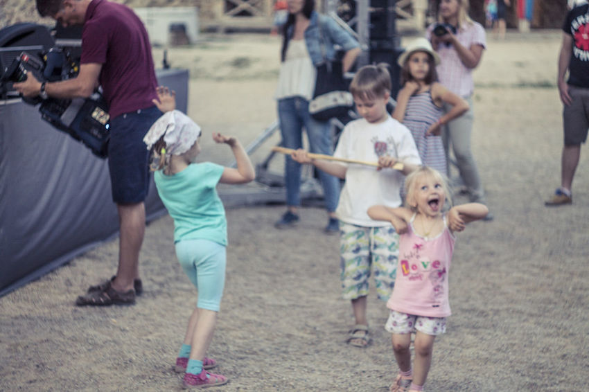 Belarus Castle Childhood Cute Enjoyment Fun Lida Lifestyles Outdoors Playing