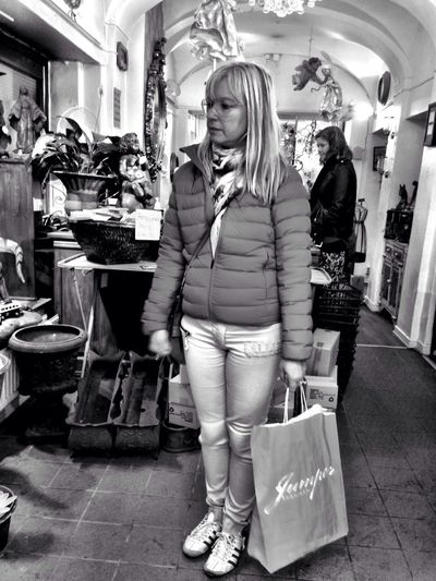 shop till u drop People Gothenburg Blackandwhite Gray Day.