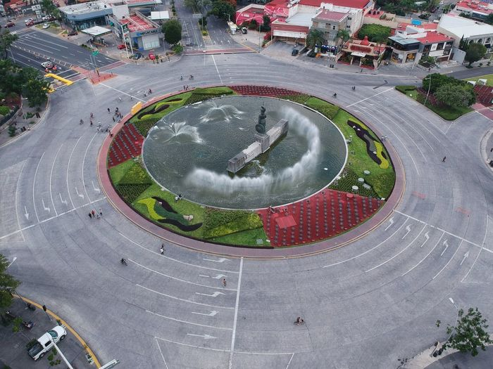 Minerva Jalisco Guadalajara Circle High Angle View Geometric Shape Shape Day Plant Nature Architecture Water City Outdoors