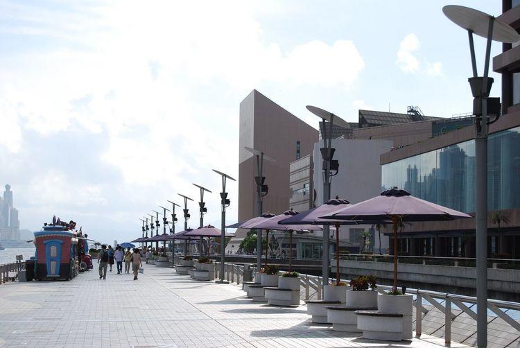 Architecture Building Exterior Built Structure Cloud - Sky Day Outdoors Sky Tsim Sha Tsui East Tsim Sha Tsui 尖沙咀