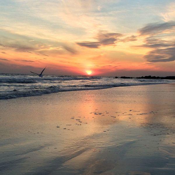 Sunset At Long Beach, NY Eyem Best Shots Nature_collection Sky Collection Beautiful Sky EyeEm Sunset Visualmagic Popular Photos EyeEm Best Shots Sunset #sun #clouds #skylovers #sky #nature #beautifulinnature #naturalbeauty #photography #landscape Eye4photography