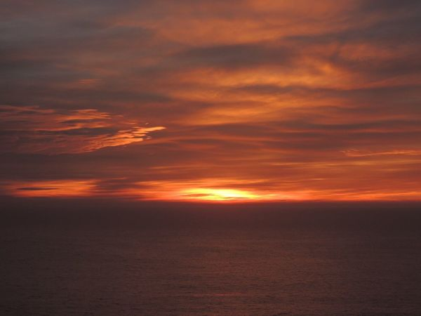 After The Sunset Sunset Silhouettes Sunset Fire  Sky Collection Sky Fire Clouds Reflection Orange Clouds Sunset Horizon Over Sea Dramatic Sky Sea And Sky Sea View... Love It!  In Front Of Me Enjoying The Sunset The Purist (no Edit, No Filter) Reñaca Beach , Chile