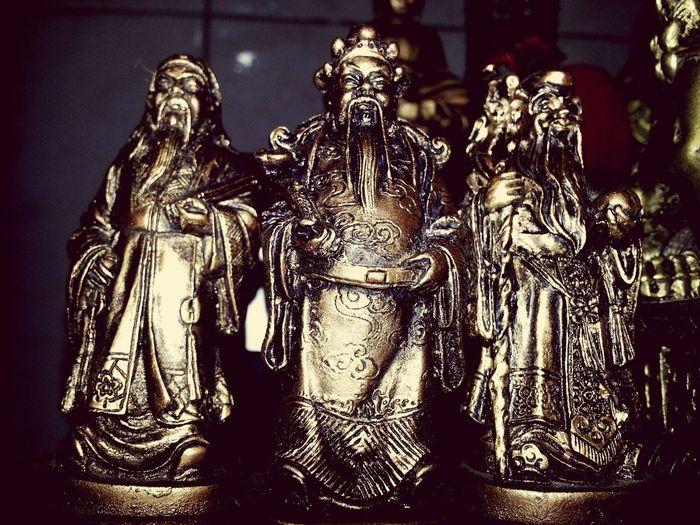 FUK Luk Sau Chinese Culture Chinese God Gods Fengshui  Fuk Luk Sao Feng Shui