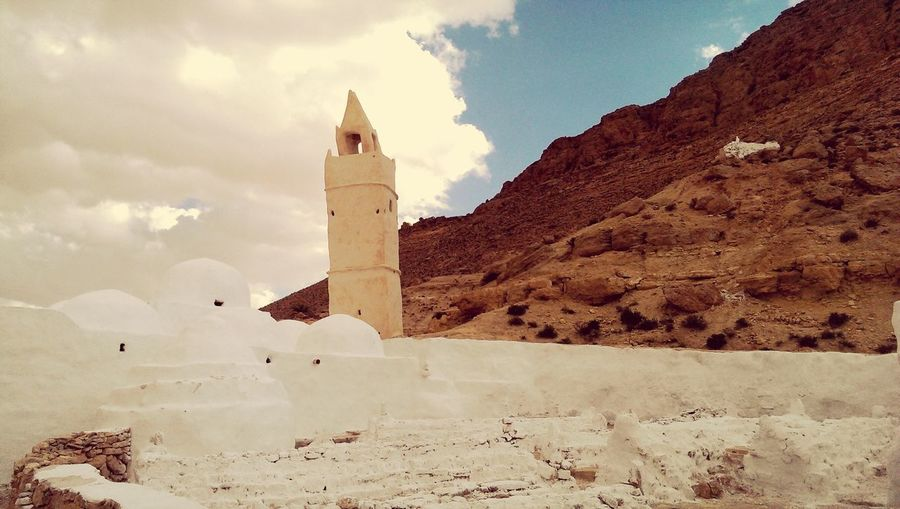 Mosque Meditation Ancient Architecture Desert Deserts Around The World 7 Sleepers Tombstones Silence No Tourists South Tunisia