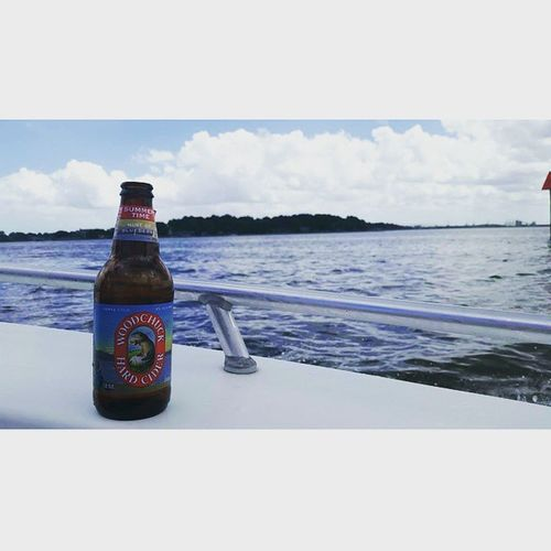 Thanks Wendall for letting us on your boat, welcome to the family thanks to @eburton620 .. had so much fun tubing, drinking, swimming and chillin on this beautiful sunny day with 80° water 🌞👌🏊🍻🌞 @bpapa20 Boating Drinking Virgina Woodchuckhardcider