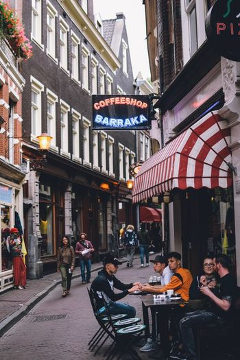 Building Exterior Architecture Built Structure City Group Of People Street Real People Women Building Table Lifestyles Men Large Group Of People Adult Cafe City Life Sidewalk Cafe Leisure Activity Crowd Outdoors Amsterdam EyeEm Best Shots