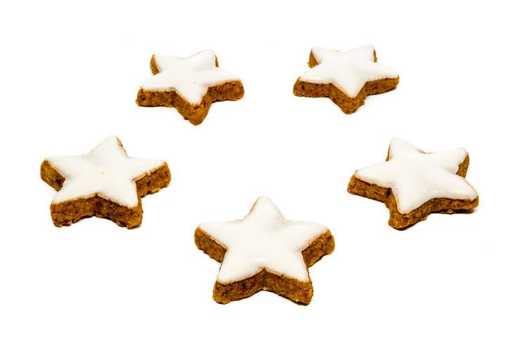 Star shaped cinnamon cookies Christmas Christmas Cookie Christmas Cookies Cinnamon Cookie Food Star Star Cookie Star Shaped Star Shaped Fudge White Background