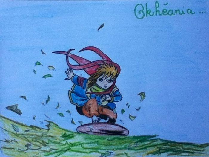 Les Dessins De Beline Art Jasper, personnage de la BD Okéhania Drawing Dessin