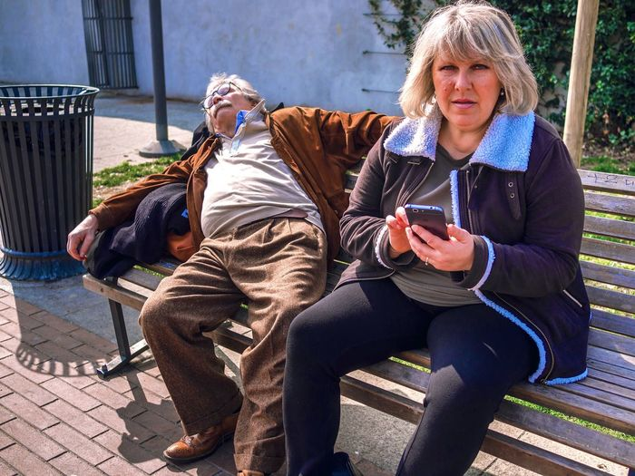Slow Texter // Darsena, Milano // March'17 Sitting Casual Clothing Relaxation Adults Only Bench Senior Adult Outdoors Adult People Portable Information Device Friendship Technology Milan Italy Candid Streetphotography Funny Sleeping Texting Darsena Navigli The Street Photographer - 2017 EyeEm Awards