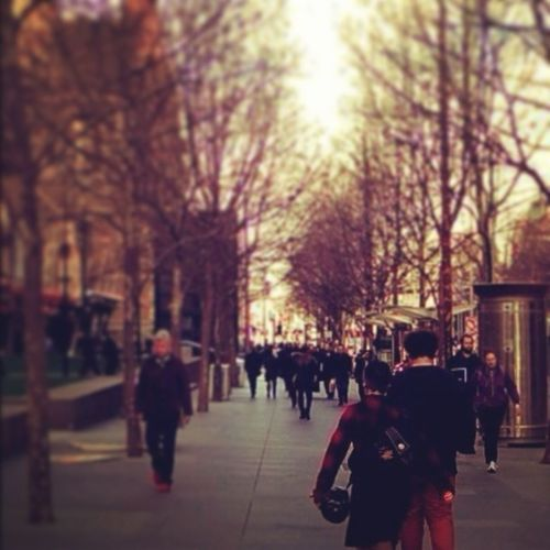 Melbourne City Swanston St #Melbourne The Explorer - 2014 EyeEm Awards iphone