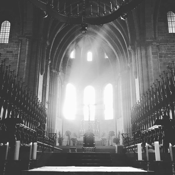 Architecture Holy Illuminated Indoors  Light And Shadow Lights No People Place Of Worship Religion Silence Spirituality Sunrays Symmetry Tranquility