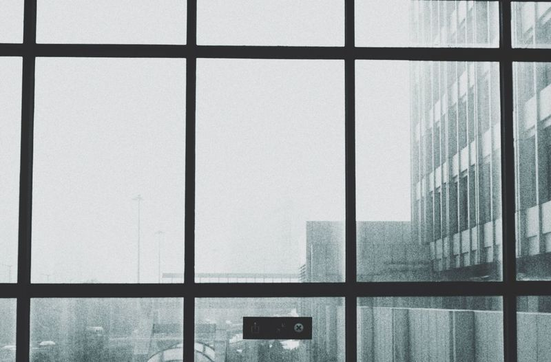 Cityscapes 雾气 灰 网格