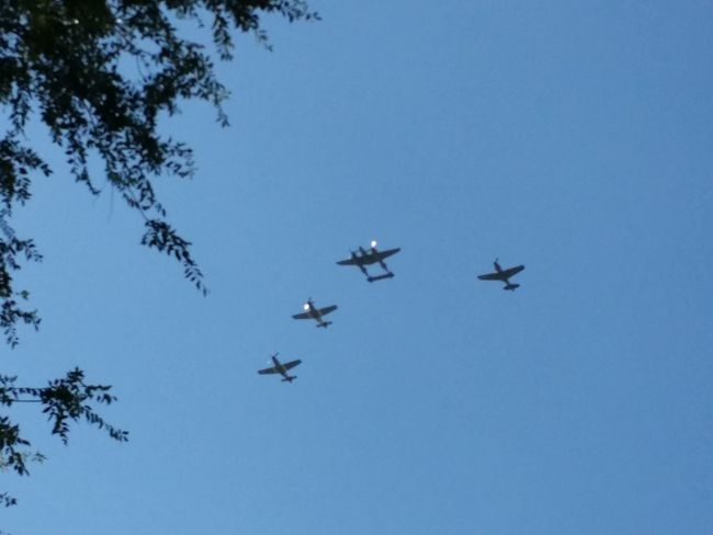 World War 2 War Planes AirPlane ✈ Formation Cloud_collection  Sky_collection Caught My Eye