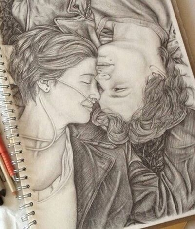 My Artwork Check This Out Tfios ♡♥ My Sketch (:
