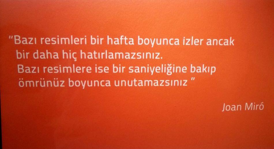Joan Miro. . First Eyeem Photo Nature_collection Tophane-i Amire Kültür Merkezi That's Me