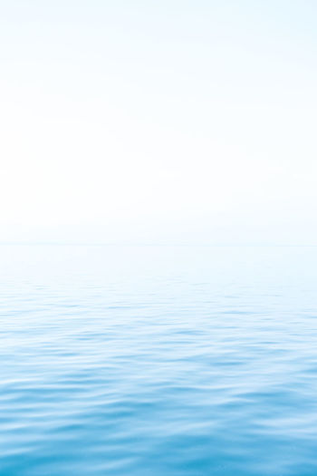 Backgrounds Beauty In Nature Blue Clear Sky Copy Space Day Horizon Over Water Idyllic Nature No People Outdoors Purity Scenics Sea Sky Tranquil Scene Tranquility Water