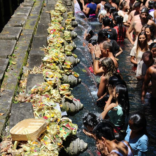 Tirtaempul  Sacredplace Bali INDONESIA Pray People And Places The Street Photographer - 2017 EyeEm Awards