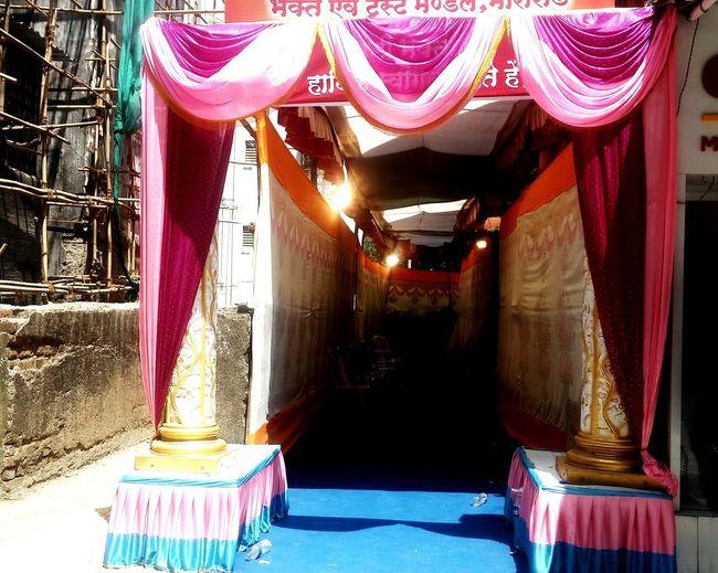 No People Day Indoors  Tent Mandap Door Gate