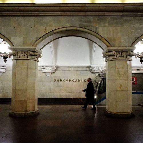 Russia Metro Bypassing Train Passenger P9 Huawei Huawei P9 Leica HuaweiP9 Person Walk