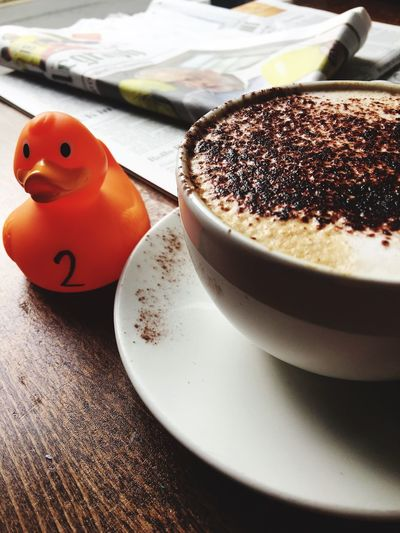 Coffee Time rubber duck 2