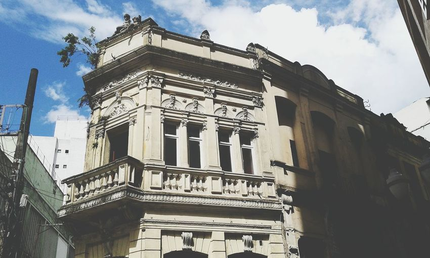 Old Architecture Old Times Antique Building Different Perspective Sky And Clouds Sky_collection Architecture_collection Sun Day