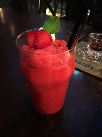Strawberry daiquiri . Nice weekend Food And Drink Nice Weekend Coffee And Cigarettes Drinks Alcohol