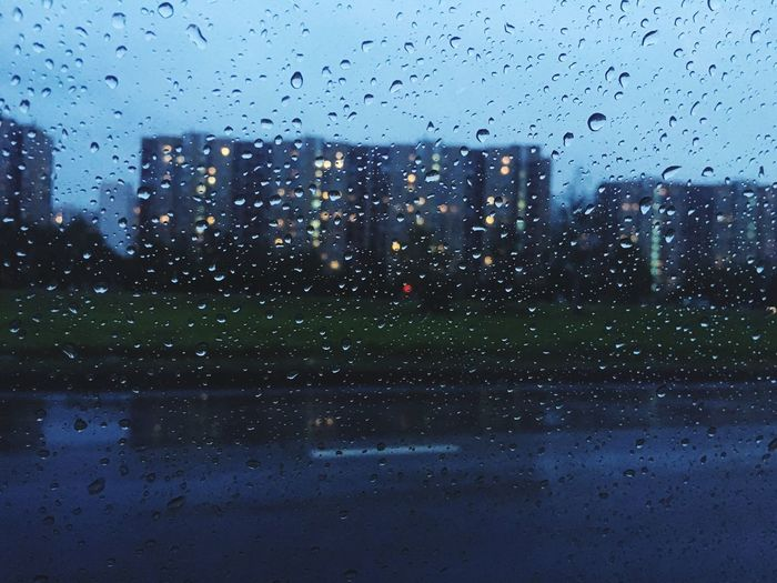 Season  Wet Residential Building Window Residential Structure City Life City Residential District No People Water Drops Rainy Days Raindrops Rain Window View From My Point Of View Reutov реутов