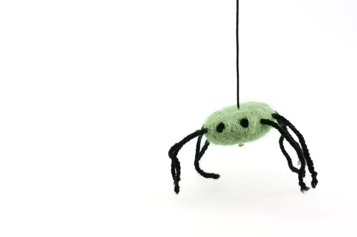 Itsy bitsy Art Children Cute Felted Harmless Itsy Bitsy Spider Non Realistic Not Dangerous Not Really Scary Soft Spirituality Toy