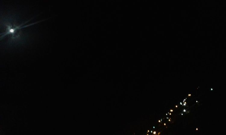 Newpicture Moon Light In The Darkness City Lights