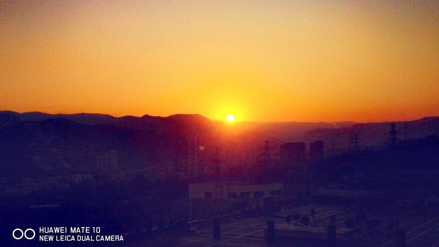 石泼嘴拍摄的日落 Astronomy Sunset Sun Sky