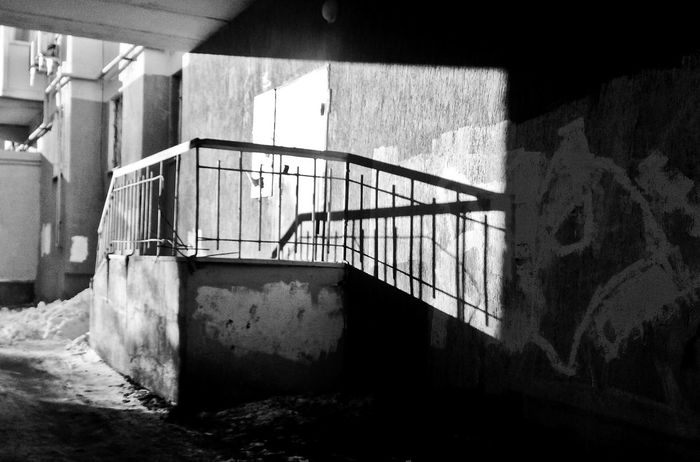 Built Structure Staircase Architecture No People Shadowplay Shadows & Lights Streetphotography Wb