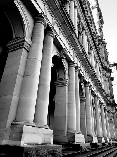 Building Architecture H & M  MelbournePhotographer Gpo Historical Building Blackandwhite Melbourne City EyeEm Gallery EyeEm Best Shots - Black + White Eye4photography  Eyeemfirstphoto Outdoors The Architect - 2017 EyeEm Awards Melbourne Eyeem Market Eyeemphoto Eyemphotography EyeEmNewHere Monochrome Photography Monochrome