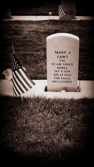 Korean War Veteran Veterans Memorial Veteran My Grandma  My Grandmother Airforce Airforcefamily Air Force Rip Tribute To The Troops Proud American  American Air Force Loadmasterlife Amazing Woman Strong Woman Proud Of My Flag American Dream Fight For Freedom Headstone Veterans Cemetery USAF Miss You Granny Rest In Peace ❤ Rest In Peace Series