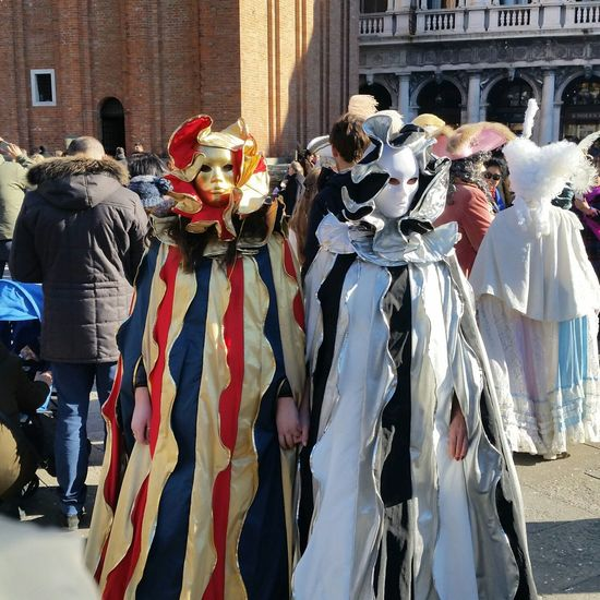 what a love!! Carnival Crowds And Details Celebration Parade Day Lights Italy Art Arts Culture And Entertainment Venezia Mask EyeEmBestPics EyeEmbestshots EyeEmNewHere Culture City Venice Carnival Architecture Carnival Sky High Angle View Venice Travel White People EyEmNewHere EyeEm Diversity