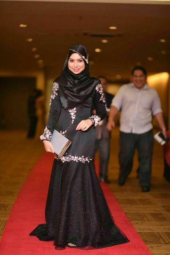 Dinner Glamorous Nite Elegance Everywhere Lovely Dress Womeninblack Lovelovelove erna_nabila 😍😍😍