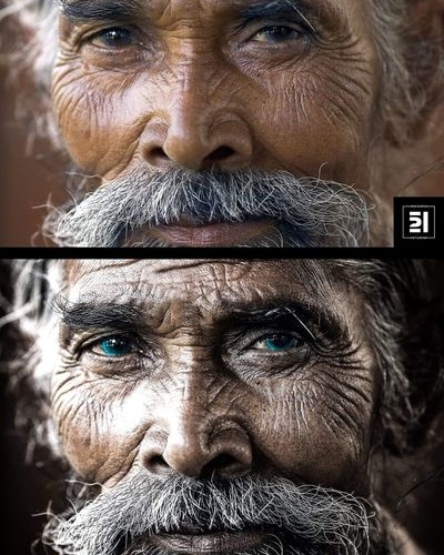 Ofis521 Portrait Oldman Photoshop Photography People Posterart Kayseri Like4like Muhammedbakar Tasarım Men
