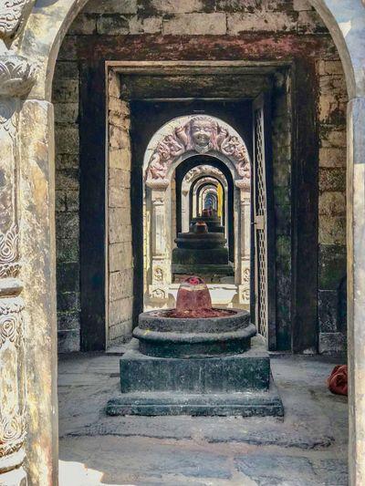 Pashupatinath Temple, Kathmandu Nepal Architectural Column Art And Craft Built Structure Hindu Temple History Place Of Worship Religion Spirituality