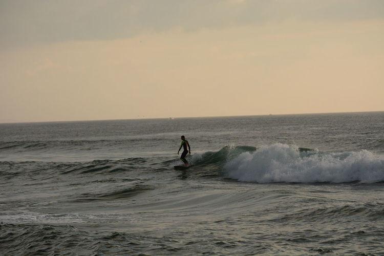 Surfer Seascape