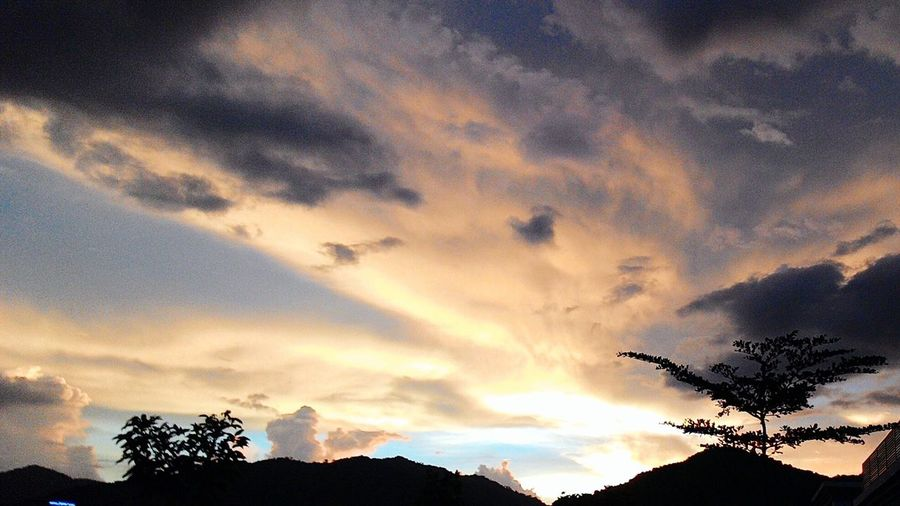 Twilight sky in bandar meru raya