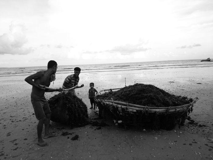 B&w Street Photography Nusatenggaratimur Flores Watuparunu Beach Indonesia_photography