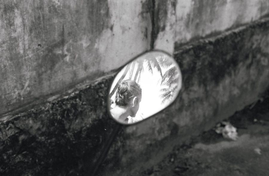 35mm Analogue Photography Mirror Blackandwhite Portrait Streetphotography