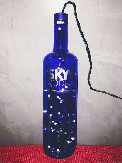 Skyvodka Palermo Design Artdesign  Lightbottlesbygioajr