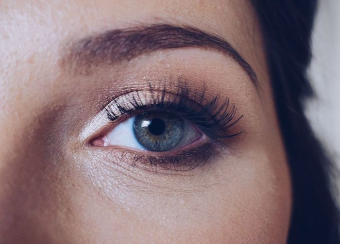 Adult Close-up Day Eyeball Eyebrow Eyelash Eyesight Human Body Part Human Eye Human Skin Indoors  Looking At Camera One Person People Portrait Real People Young Adult Young Women