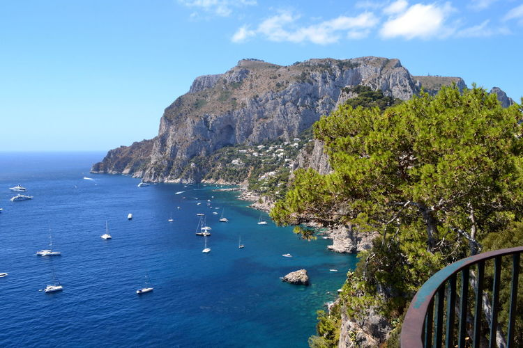 Mediterranean Sea Naples Vacations View Beach Beauty In Nature Blue Capri Cliff Day Horizon Over Water Mountain Nature Nautical Vessel No People Outdoors Rock - Object Scenics Sea Sky Tranquil Scene Tranquility Transportation Travel Destinations Water