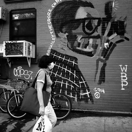 Lower East Side Newyorkcity Blackandwhitephotography The Street Photographer - 2015 EyeEm Awards EyeEm Best Shots - Black + White Black And White Streetphotography Streetphoto_bw Street Art Blackandwhite Photography Street Protography