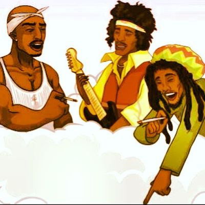 somewhere in Heaven Tupac Hendrix Marley Ifonlythiswasreal Jamsession