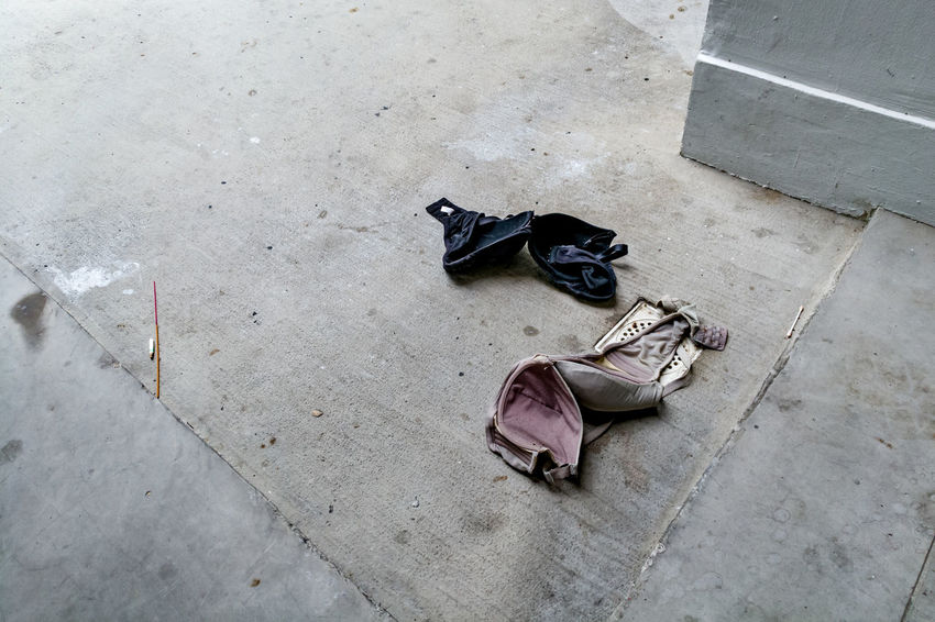 Bra Fallen Left Behind Void Deck Residential Building HDB Street Photography Streetphotography Streetphoto_color Street Life Mobile Photography HuaweiP9 Shoe Pair Sand
